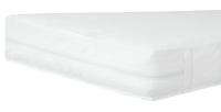 Матрас Qvatro LKPK-11 люкс толстый (кокос, поролон, кокос)  белый. 34313