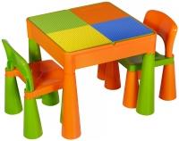 Детский стол и 2 стульчика Tega Mamut 899G orange-green. 31035