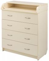 Пеленальный комод Babyroom Комод 4 тел.Big 102x80x50  ваниль. 34500