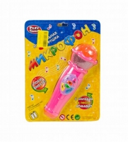 Микрофон музыкальный (розовый) MIC. 39961