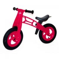 """Беговел """"Cross Bike"""" с надувными шинами, 12"""" (малиновый) KW-11-018 Kinderway. 40180"""