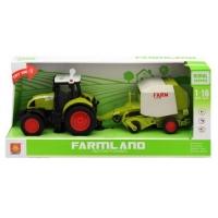 """Трактор с прицепом """"FARMLAND"""", музыкальный WENYI. 37417"""