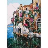 """Картина по номерам """"Цвета Тосканы"""" Идейка. 35329"""