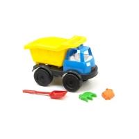 "Грузовик ""Power Track""  с лопаткой и пасочками (желтый) Kinderway. 36711"