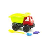 """Грузовик """"Power Track""""  с лопаткой и пасочками (салатовый) Kinderway. 36710"""