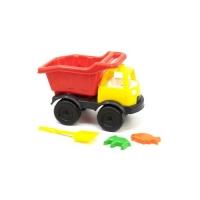 """Грузовик """"Power Track""""  с лопаткой и пасочками (красный) Kinderway. 36708"""