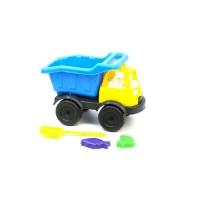 "Грузовик ""Power Track""  с лопаткой и пасочками (синий) Kinderway. 36709"