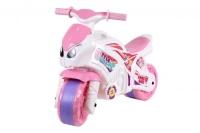 """Каталка """"Мотоцикл Технок"""" бело-розовая Технок. 40267"""