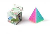 """Пирамидка Рубика """"Pyraminx Jelly Color"""" 3х3 QiYiCube. 35701"""
