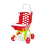 Коляска с козырьком и столиком (красная) Kinderway. 37576