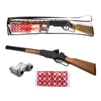 """Винтовка """"Winchester"""" с пистонами и биноклем Golden Gun. 36874"""