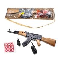 """Автомат """"АК-47"""" с пистонами и аксессуарами Golden Gun. 36854"""