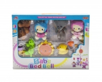 """Музыкальная карусель """"Babe Bed Bell: котики и мишки"""" MEI LIN DA. 36230"""