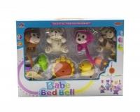 """Музыкальная карусель """"Babe Bed Bell: обезьянки и мишки"""" MEI LIN DA. 36232"""