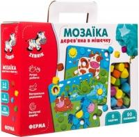 "Деревянная мозаика ""Ферма"" Vladi Toys. 39471"