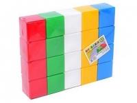 """Кубики """"Радуга 3 ТехноК"""" (20 кубиков) Технок. 39916"""