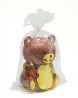 Погремушки в колбе Мишка коричневый JIADIHONG. 40044