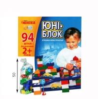 """Конструктор """"Юни-блок"""" (94 детали) Юника. 36605"""