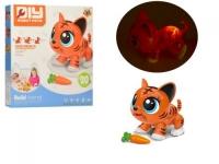 """Интерактивная игрушка-конструктор """"Robot Pets: Тигренок"""" RUN LI TOYS. 38936"""