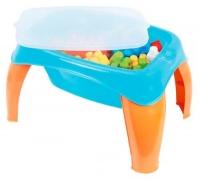 Столик с набором конструктора, 42 дет Wader. 40169