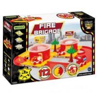 """Пластиковый трек """"Play Tracks City: Пожарная станция"""", 3,1 м TIGRES. 36796"""