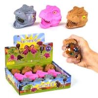 """Набор игрушек антистресс с орбизами """"Динозавр"""" (12 шт) JIADIHONG. 35647"""