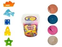 """Кинетический песок """"Super Sand"""", с формочками PT Play Toys. 39434"""