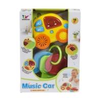 Музыкальная машинка с ключиками WANDISI. 39010