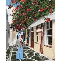 """Картина по номерам """"Уютными улочками"""" Идейка. 35325"""
