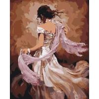"Картина по номерам ""Танцовщица фламенко"" Идейка. 35309"