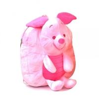 """Мягкий рюкзак с игрушкой Пятачок"""" (розовый) JIADIHONG. 34985"""