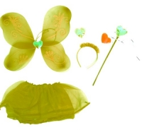 "Карнавальный костюм ""Набор бабочки"" (желтый) JIADIHONG. 34908"