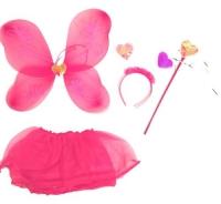 """Карнавальный костюм """"Набор бабочки"""" (розовый) JIADIHONG. 34909"""