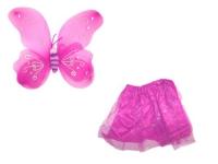 """Карнавальный костюм """"Бабочка с большими крыльями"""" (розовый) JIADIHONG. 34897"""