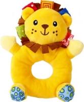 """Мягкая игрушка-погремушка """"Львёнок"""" F Lindo. 39987"""