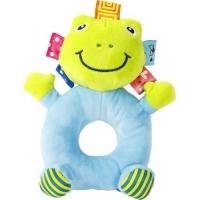 "Мягкая игрушка-погремушка ""Лягушка"" F Lindo. 39986"