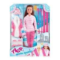 """Кукла Ася """"Winter Beauty"""" с аксессуарами JIADIHONG. 38407"""