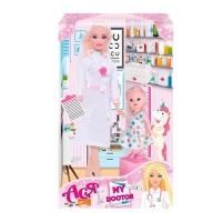 """Кукла Ася """"My Doctor"""" с аксессуарами JIADIHONG. 38405"""