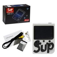 """Портативная консоль """"Retro FC SUP Game Box"""" 400 в 1 (белая) JIADIHONG. 39045"""