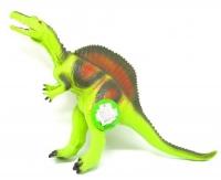 """Динозавр резиновый """"Спинозавр"""", большой, со звуком (зеленый) JIADIHONG. 38008"""