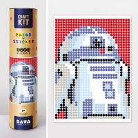 """Картина по номерам с наклейками """"Робот"""" JIADIHONG. 35390"""