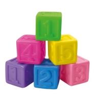 """Набор резиновых кубиков """"Цифры"""" BeBeLino. 36752"""