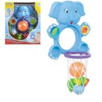 """Игрушка для ванной """"Слоник баскетболист"""" BeBeLino. 36731"""