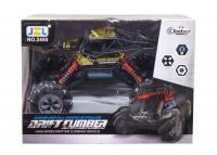 """Машинка на радиоуправлении """"Drift Climber"""" на роликовых колеса (черная) JZL. 37469"""