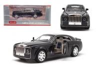 """Машинка металлическая """"Rolls-Royce Sweptail"""" (черная) XLG. 37362"""