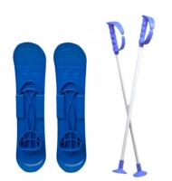 """Детские лыжи """"SKI BIG FOOT"""" (синие) MARMAT. 36109"""