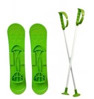 """Детские лыжи """"SKI BIG FOOT"""" (зеленые) MARMAT. 36106"""