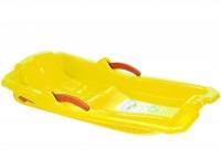 Санки SLEDGE WITH BRAKES (желтые) MARMAT. 36124