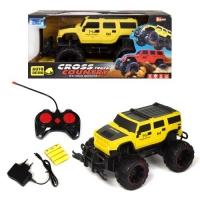 Машинка CROSS COUNTRY (желтый) JIADIHONG. 37466