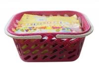 Набор конструктора в розовой корзинке Kinderway. 36641